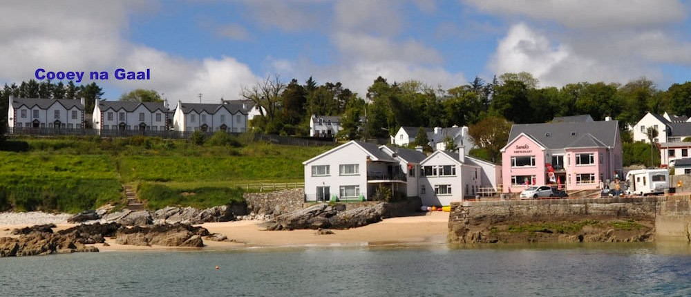 Holiday rental overlooking Portsalon harbour Donegal